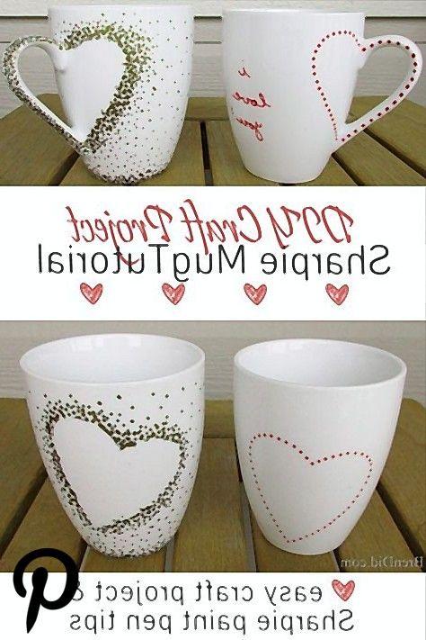 DIY Craft Project Sharpie Mug Tutorial DIY Craft Project Sharpie Mug Tutorial