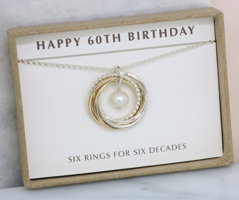 60th Birthday Gift Idea June Birthstone Jewelry Honey Willow