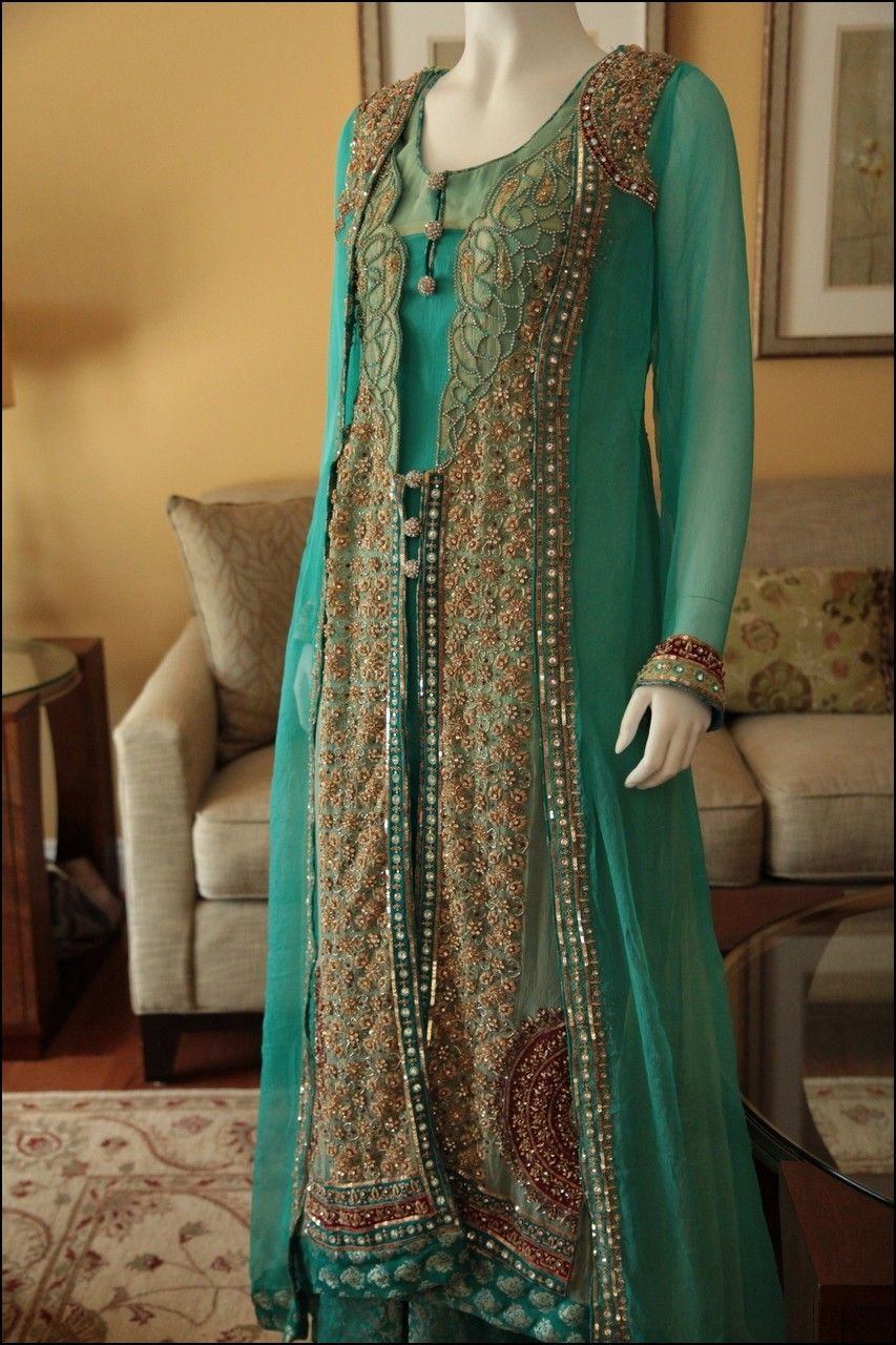 Gown Style Pakistani Dresses 2014 | Dresses and Gowns Ideas ...