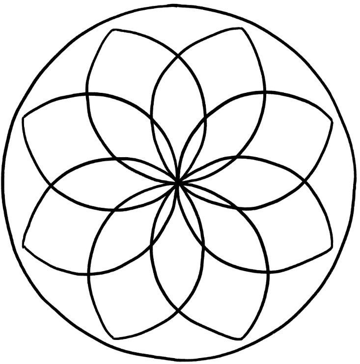 mandalas zum ausdrucken blumen  fröbel  mandalas zum