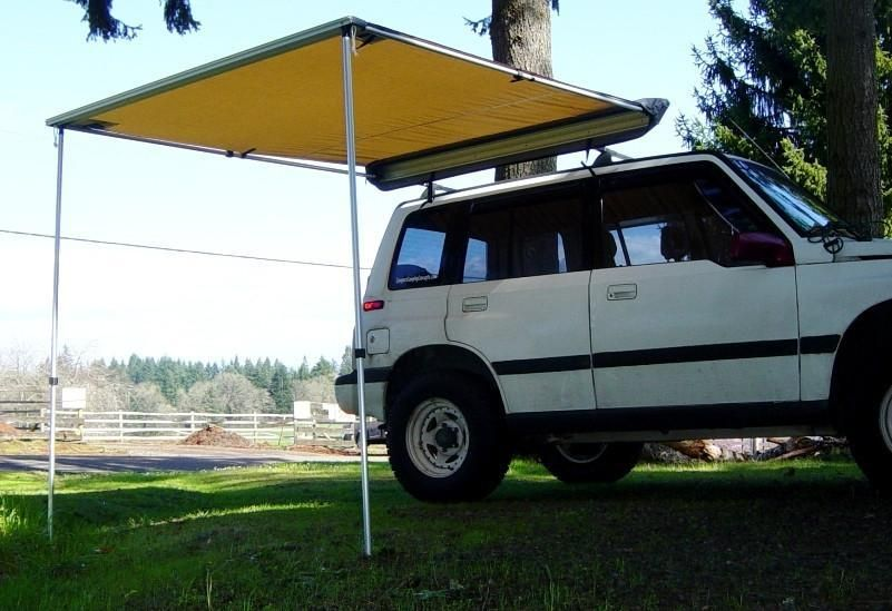 Camping Roll Out Awning Shelter in 2020   Roll out awning ...