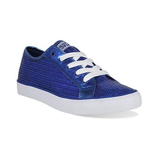 Gotta Flurt Disco II Schnürschuh Low Top Sneaker, damen, blau