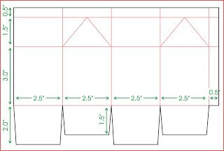 Here S A Copy Of The Templates That I Created To Cut The Milk Carton