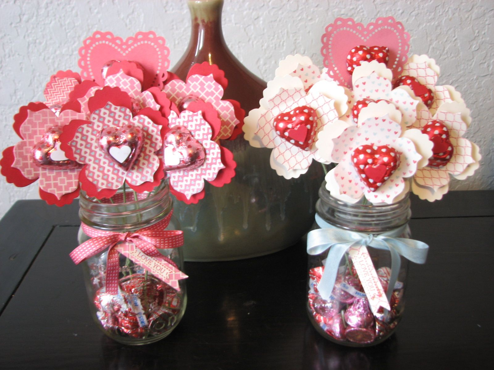 Two Rosie Cheeks: Valentine Fun Flower Bouquets | card ideas ...