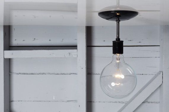 Industrial Ceiling Light Semi Flush Mount By IndLights On