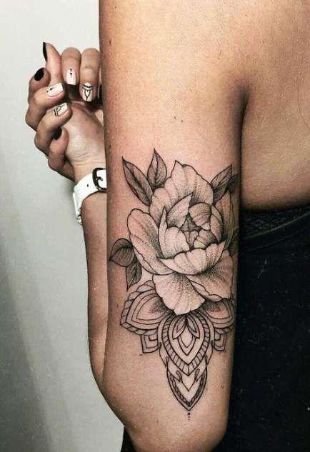Photo of 38 ideas tattoo frauen unterarm blumen mandala for 2019