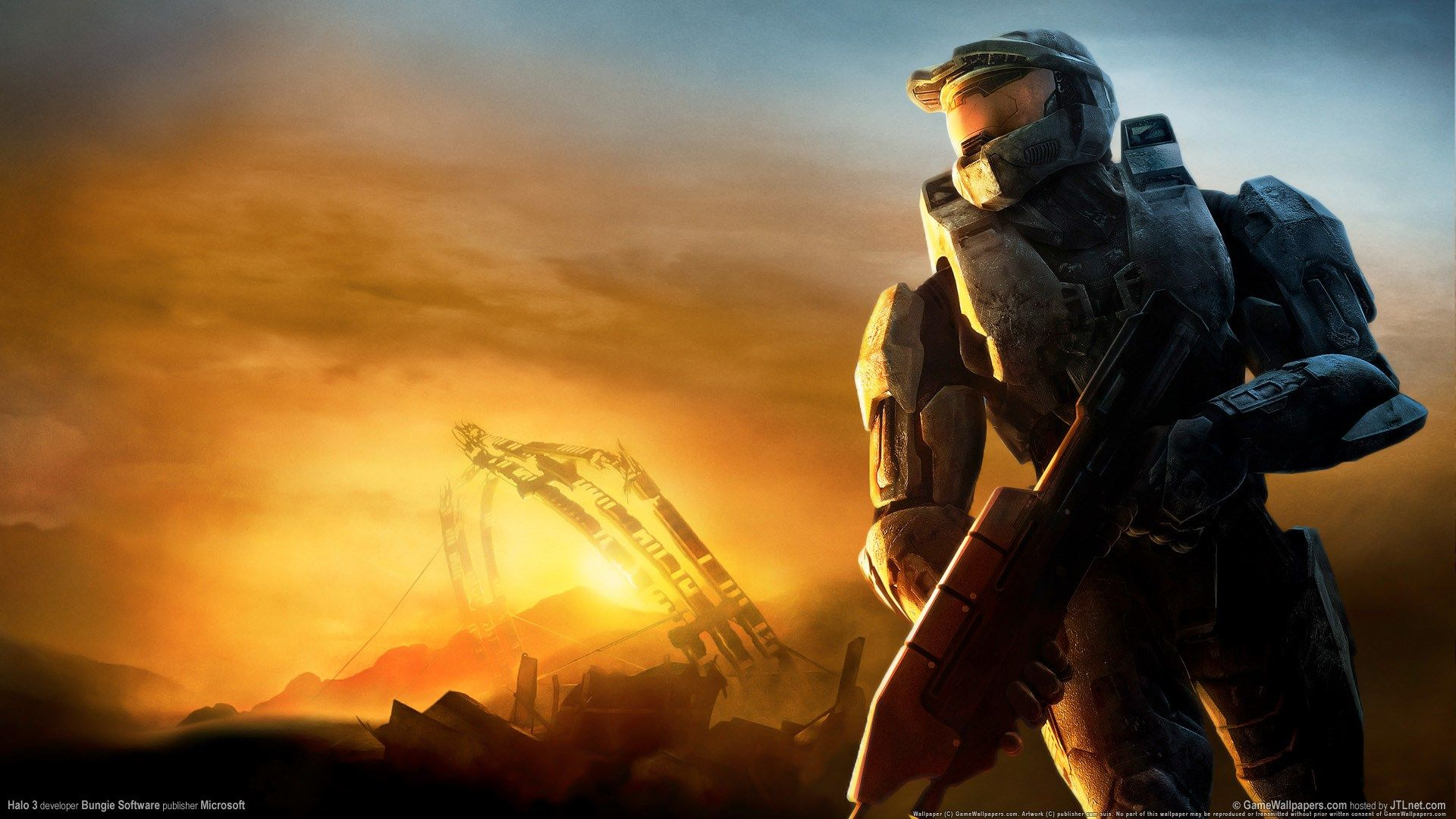 Halo Desktop Nexus Wallpaper 1920x1080 Halo Game Halo Backgrounds Halo 3