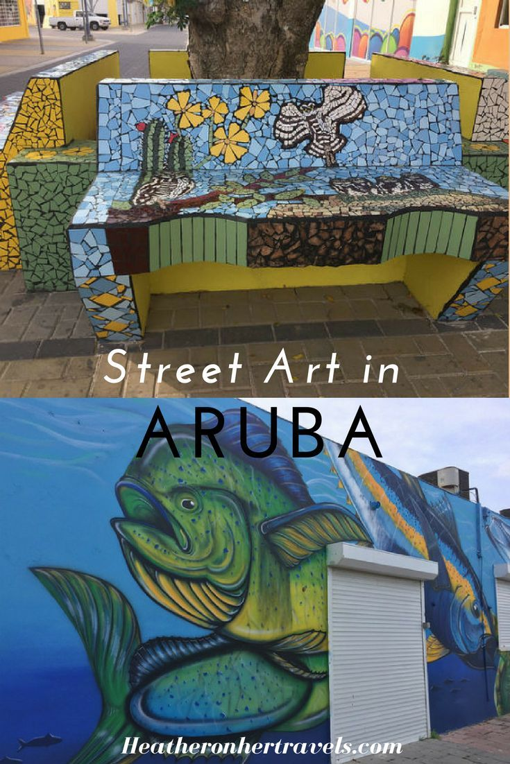 Read about the street art of Aruba