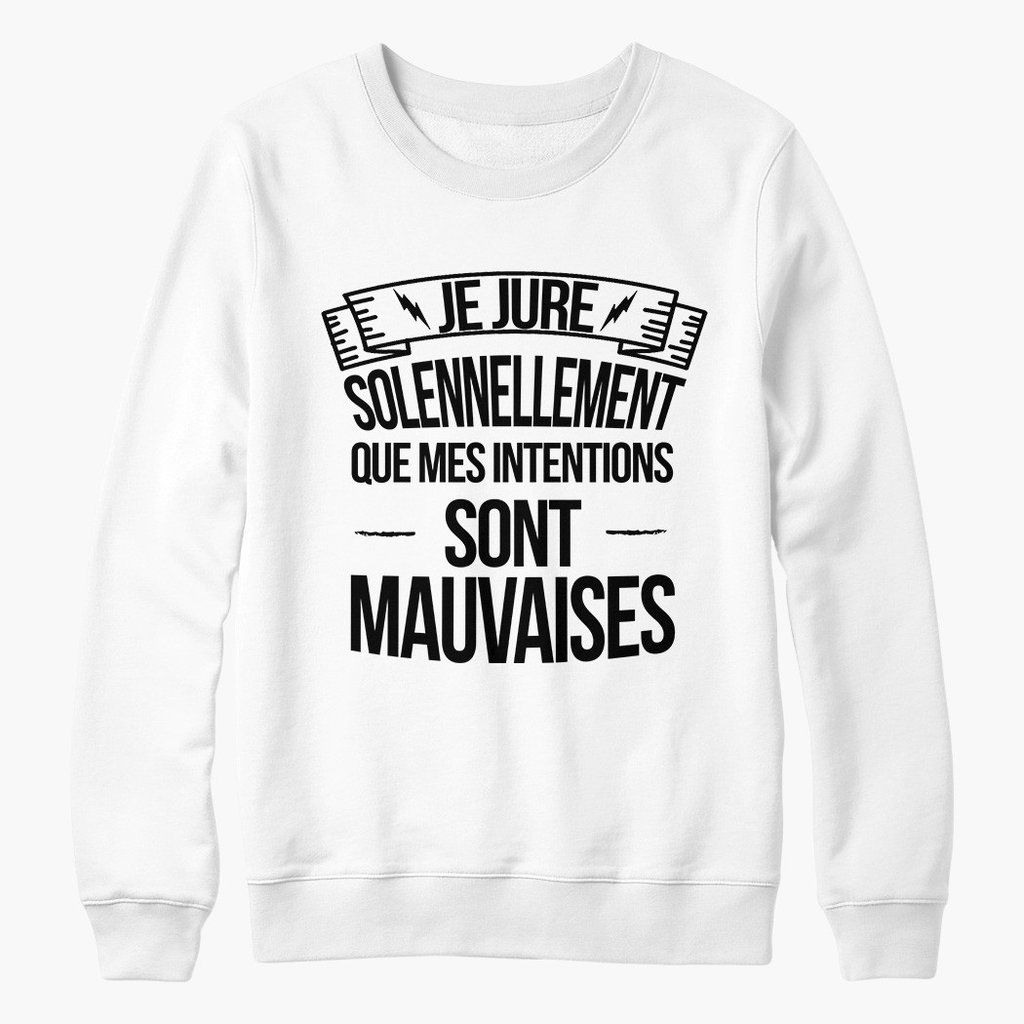 sweat harry potter je jure solennellement harry potter tshirt pull sweatshirt sweater. Black Bedroom Furniture Sets. Home Design Ideas