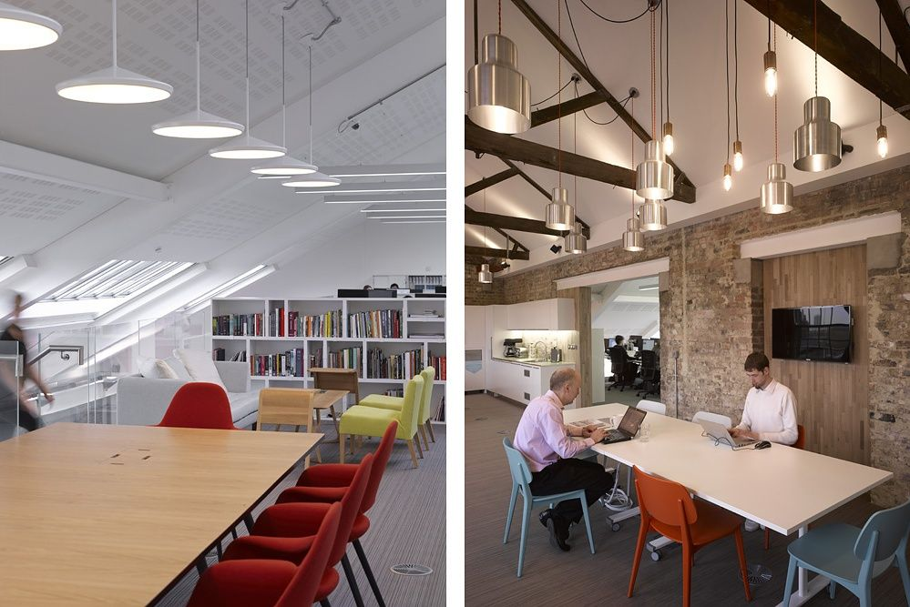Argent Llp King S Cross Clp By Moreysmith Interior Office