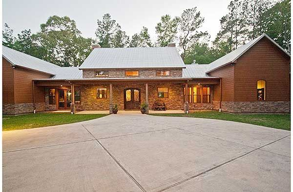 Plan 46052hc Hill Country Home With Massive Porch Ranch Style Homes Ranch Style House Plans Hill Country Homes