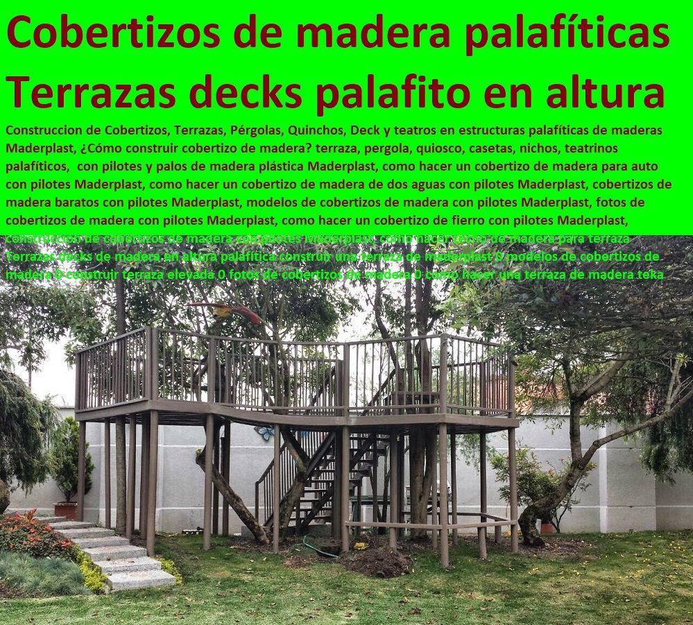 Resultado De Imagen Para Deck Madera Casita Terraza Altura