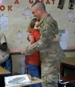 This proud papa managed to surprise his lovely daughter in Alabama with a visit in February. This video captures the tearful moments of this adorable daddy-daughter reunion!