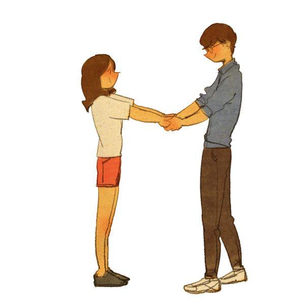 손 잡아줘요!손을 잡고 걸어요.손이 참 예뻐요.  이 예쁜 손으로 내 머리를 쓰다듬어줬죠.손을 포개었어요.앉아있다가 불쑥 내 손을 잡았어요. 그 순간 시끌벅쩍한 주변 배경이 사라졌어요.  오직 너만 보여요.이 손 놓으면 안돼요! 꼭 붙잡고 가줘요.
