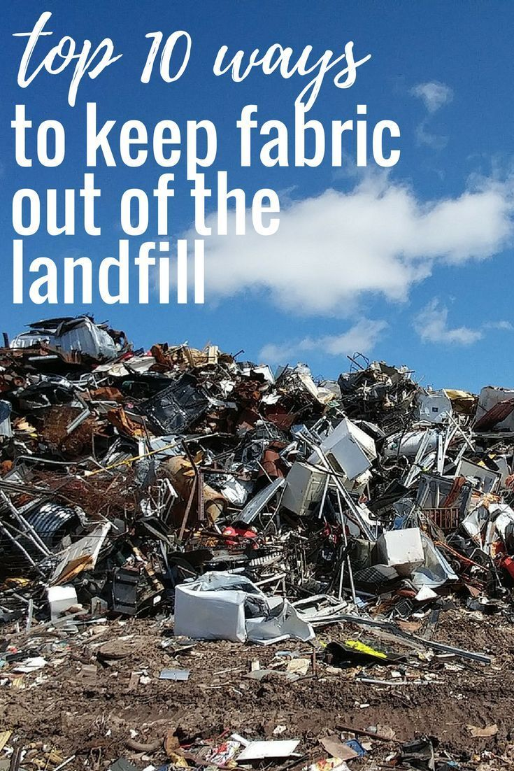 Keeping textiles out of of the landfill Eco friendly