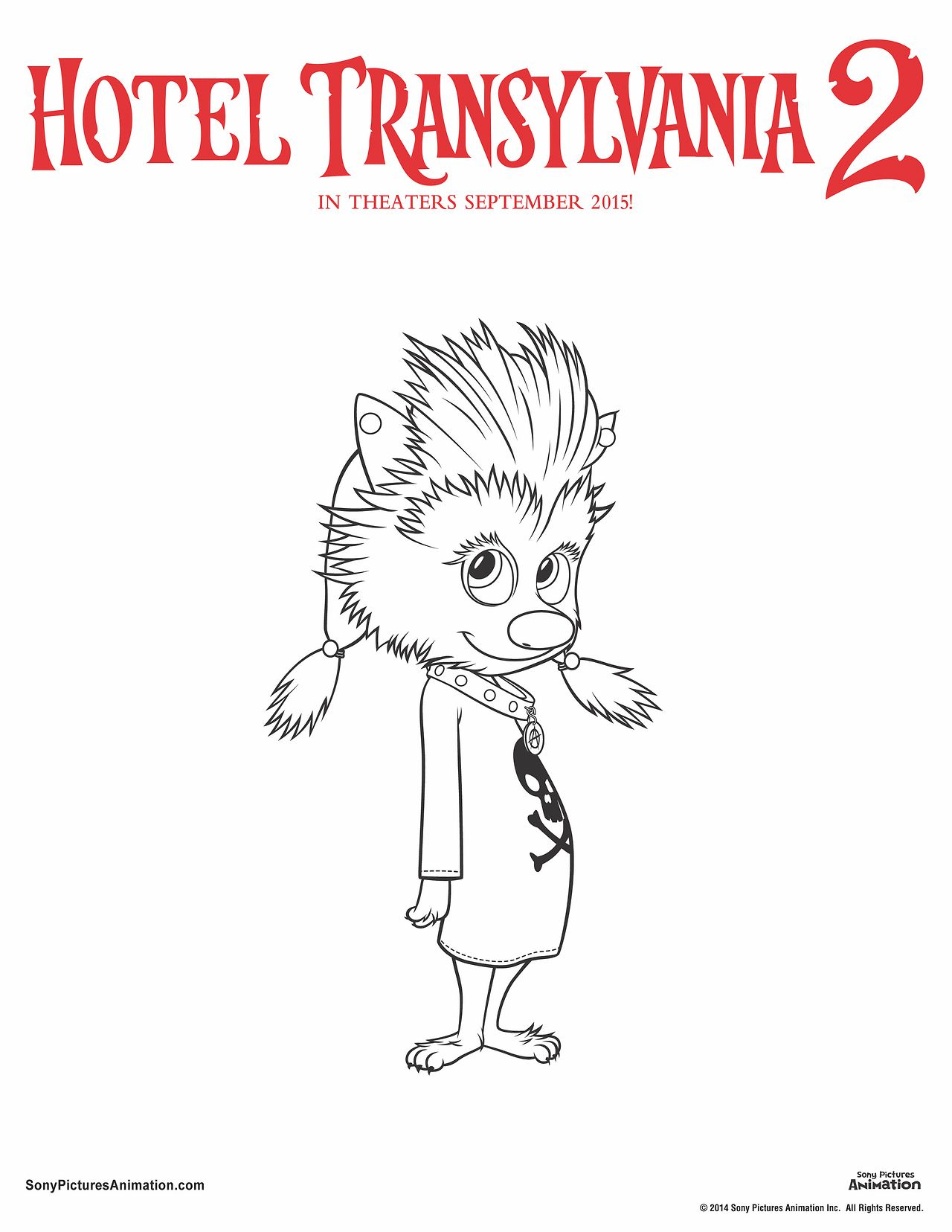 Unearth Your Inner Artist With These Hotel Transylvania 2 Coloring Sheets Choose From All Hotel Transylvania Hotel Transylvania 2 Hotel Transylvania Birthday