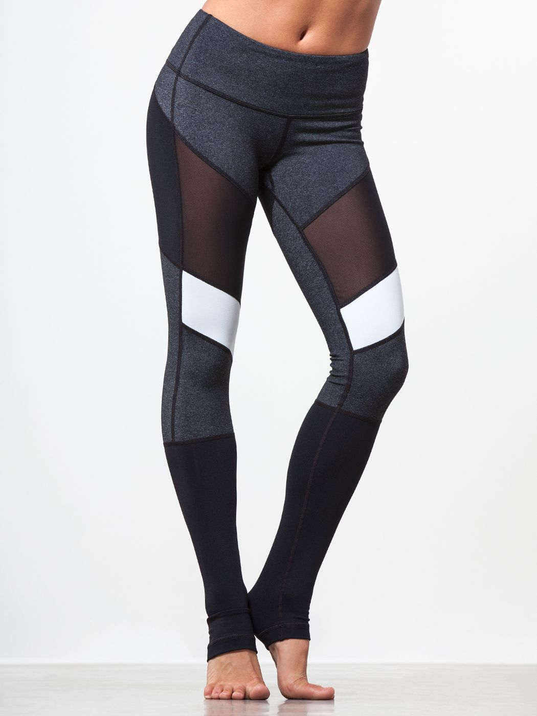 Adagio Legging in Black/charcoal