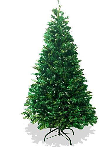 Lavohome 6feet 1200 Tip Branch Canadian Pine Frasier Fir Green Artificial Plush And Full Ch Tall Christmas Trees Metal Christmas Tree Artificial Christmas Tree