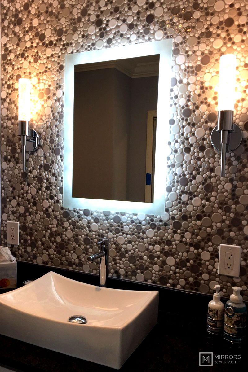SideLighted LED Bathroom Vanity Mirror