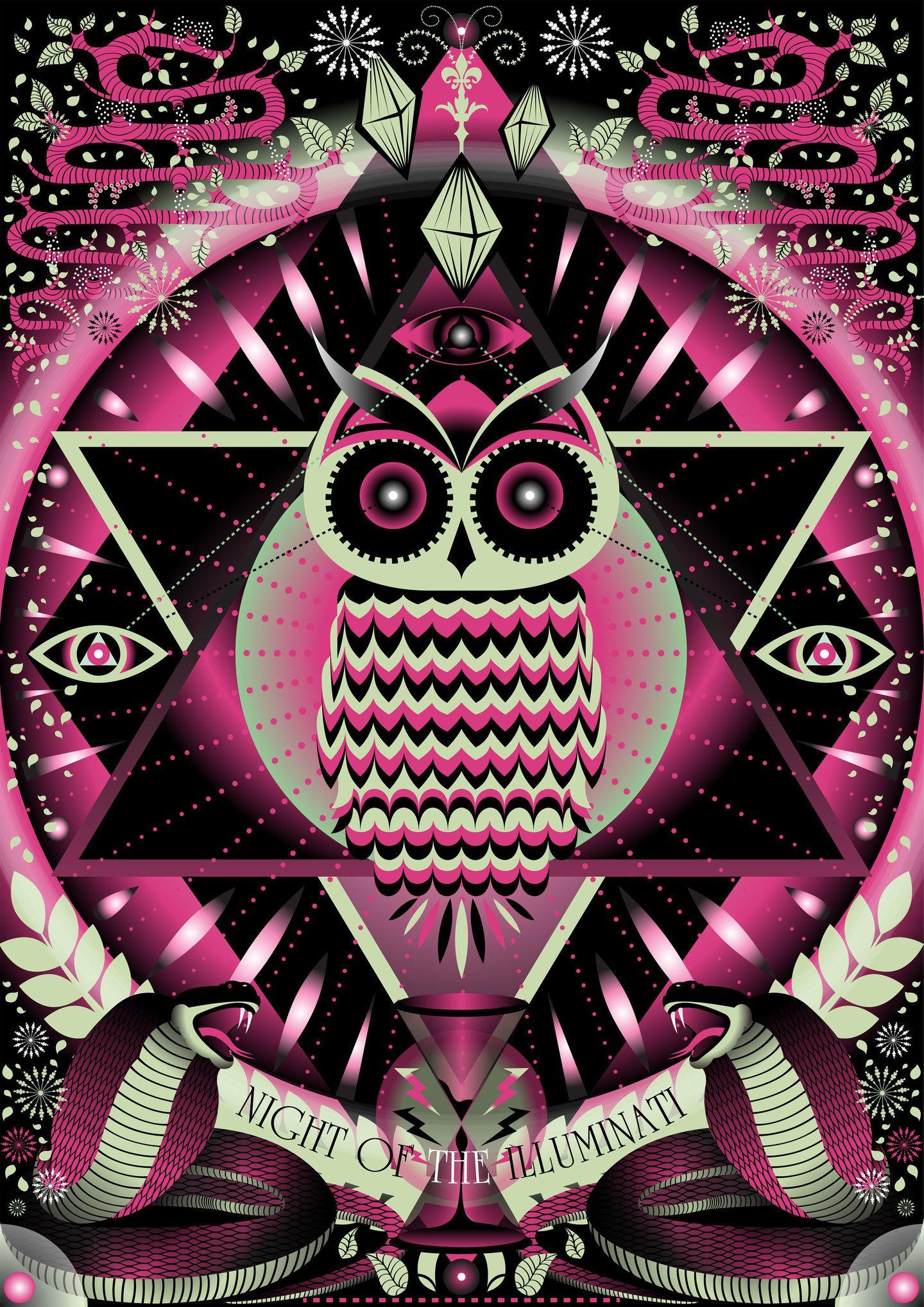 Night of the illuminati indstria criativa corujas msticos night of the illuminati indstria criativa buycottarizona Images