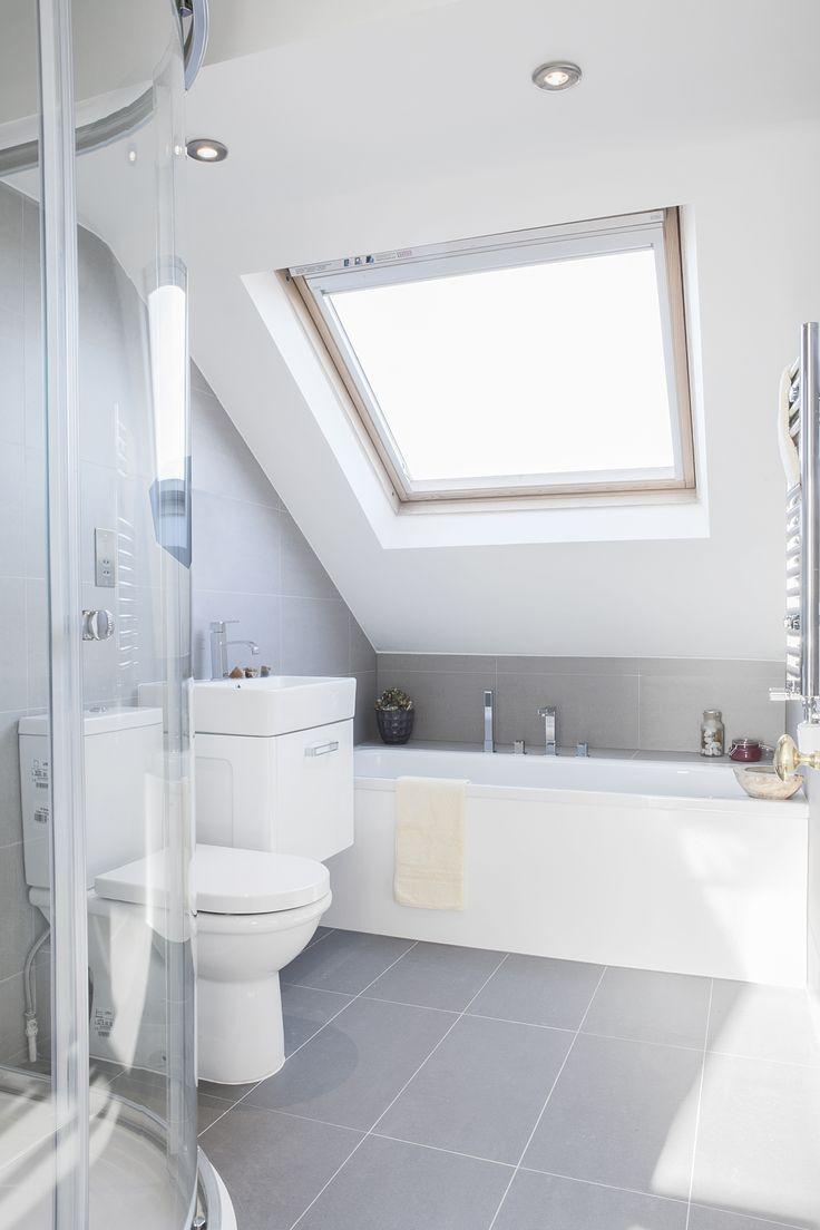 Velux window ideas  top  best diy bathroom decor ideas on a budget  dormer bathroom