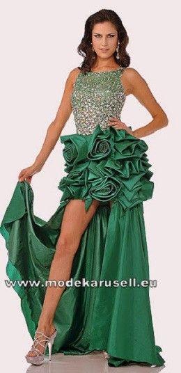Trend Abendkleid in Grün mit Pailetten (mit Bildern ...