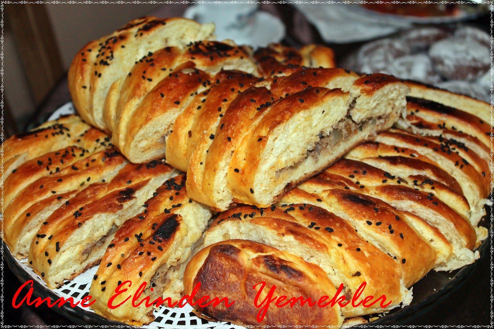 Patatesli Örgü Çörek Tarifi