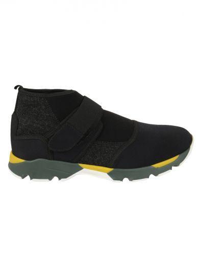 MARNI Marni Marcello High-Top Sneakers. #marni #shoes #marni-marcello-high-top-sneakers