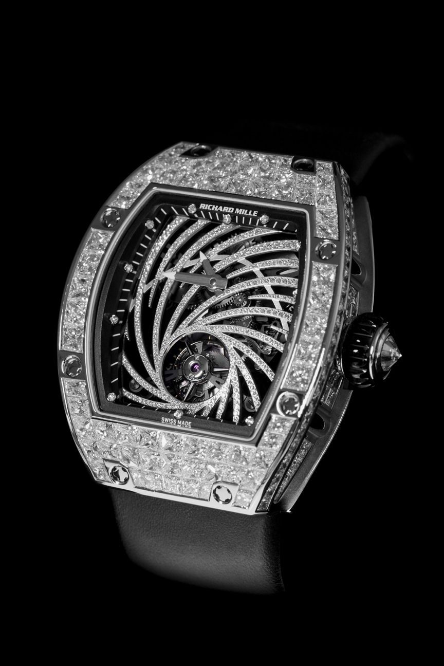 TimeZone : Basel/SIHH 2015 » SIHH 2015 - Richard Mille .RM51-02 Tourbillon Diamond Twister - Limited Edition of 30 Pieces