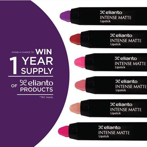 Elianto Contest In Malaysia Contest Lipstick Malaysia