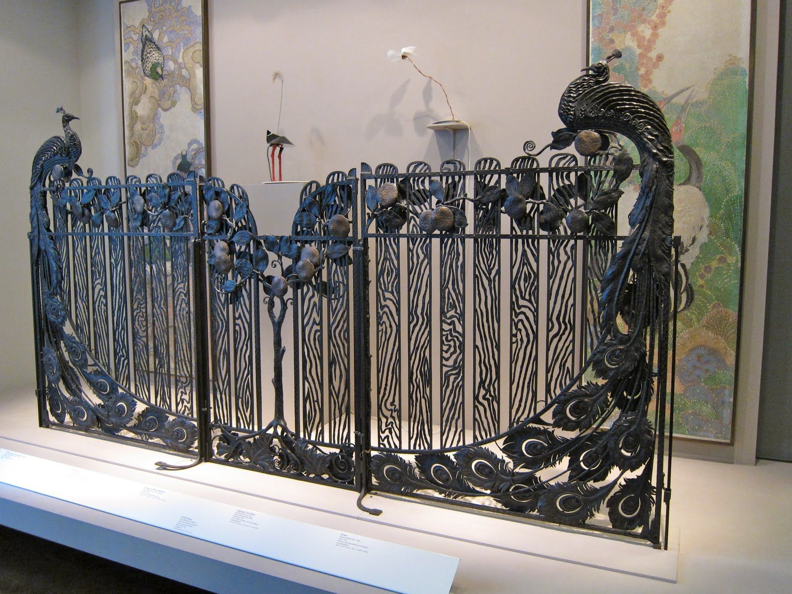 Pin antique garden gates in wrought iron an art nouveau style on - Find This Pin And More On Metal Gates
