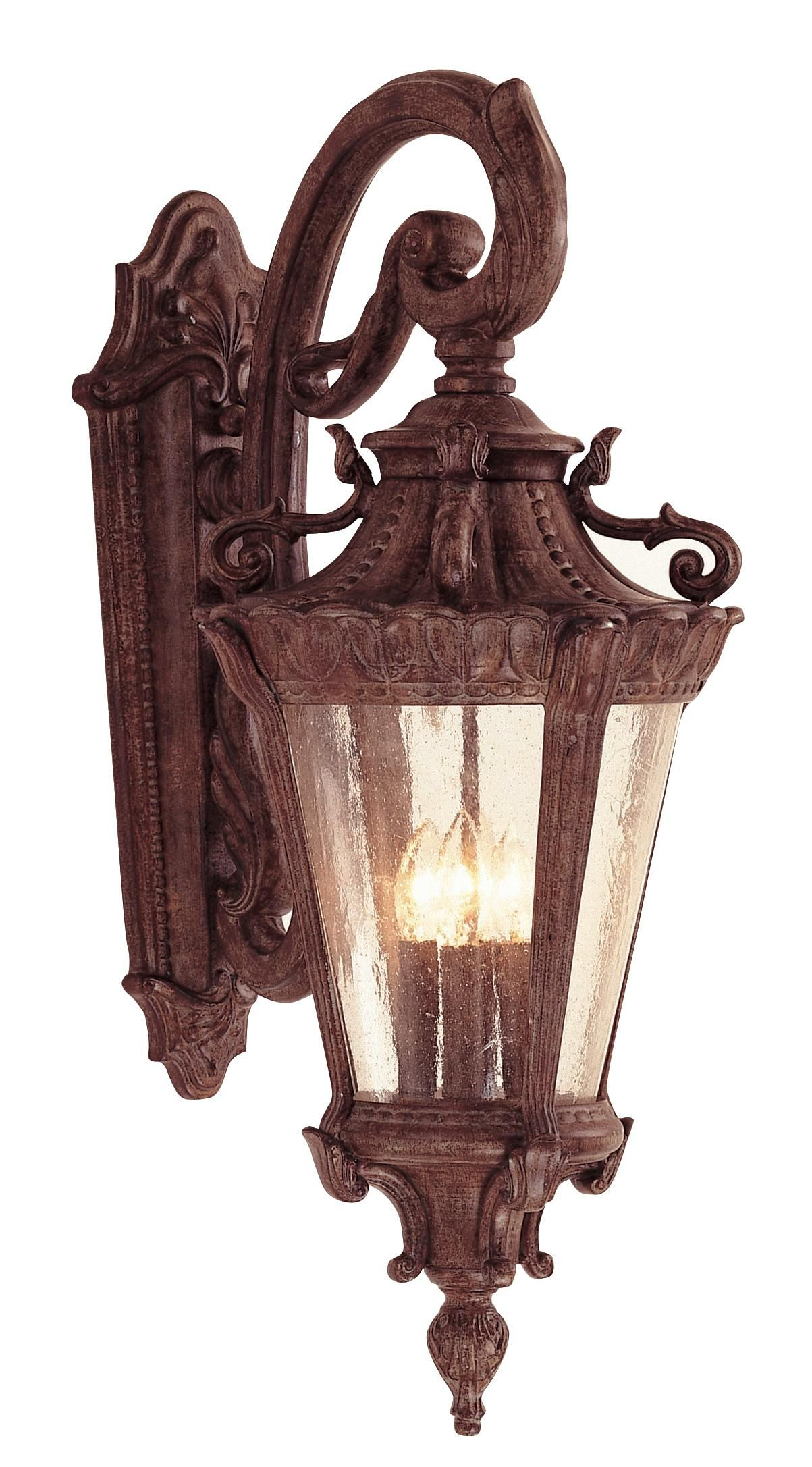 """Luzern Collection 28 1 2"""" High Outdoor Down Wall Light for an old"""