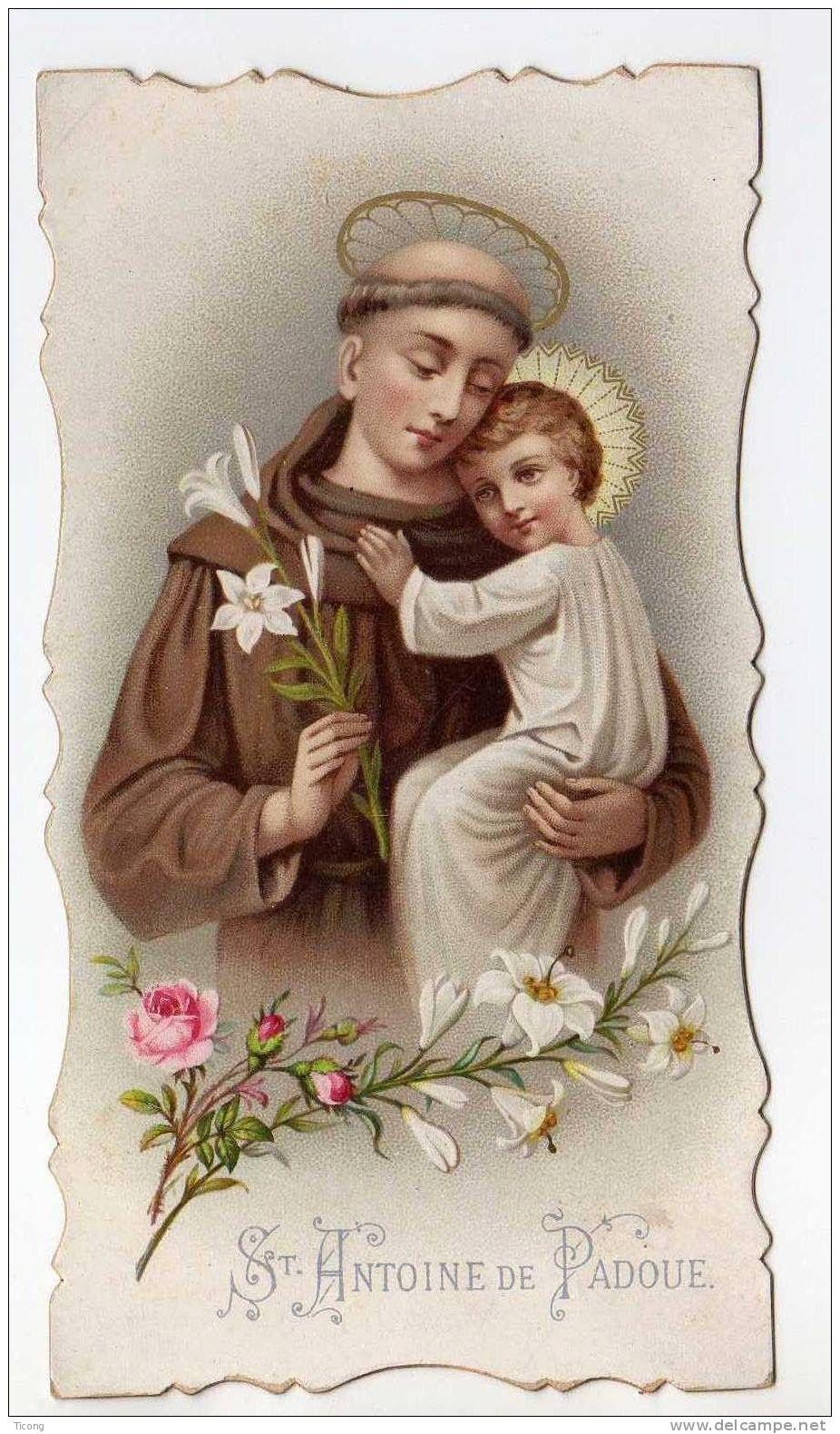 San Antonio De Padua Santos Saint Anthony Of Padua