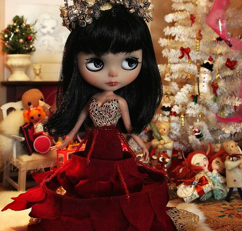"""""""Merry Christmas""""   To all my dolly friends!   Lindsay Taylor   Flickr"""