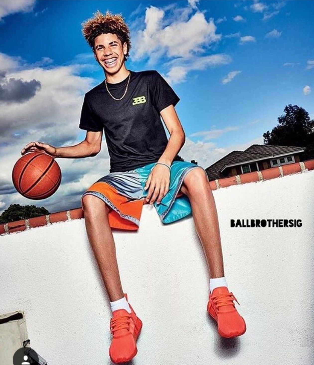 One Of My Most Fav Picture Lamelo Ball Liangelo Ball Lonzo Ball