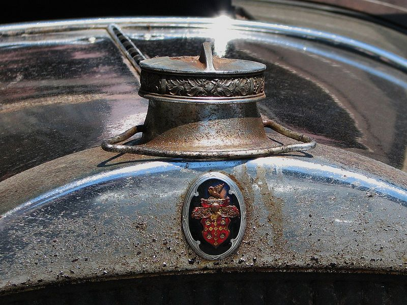 '28 PACKARD GRILL TOP | by richie 59