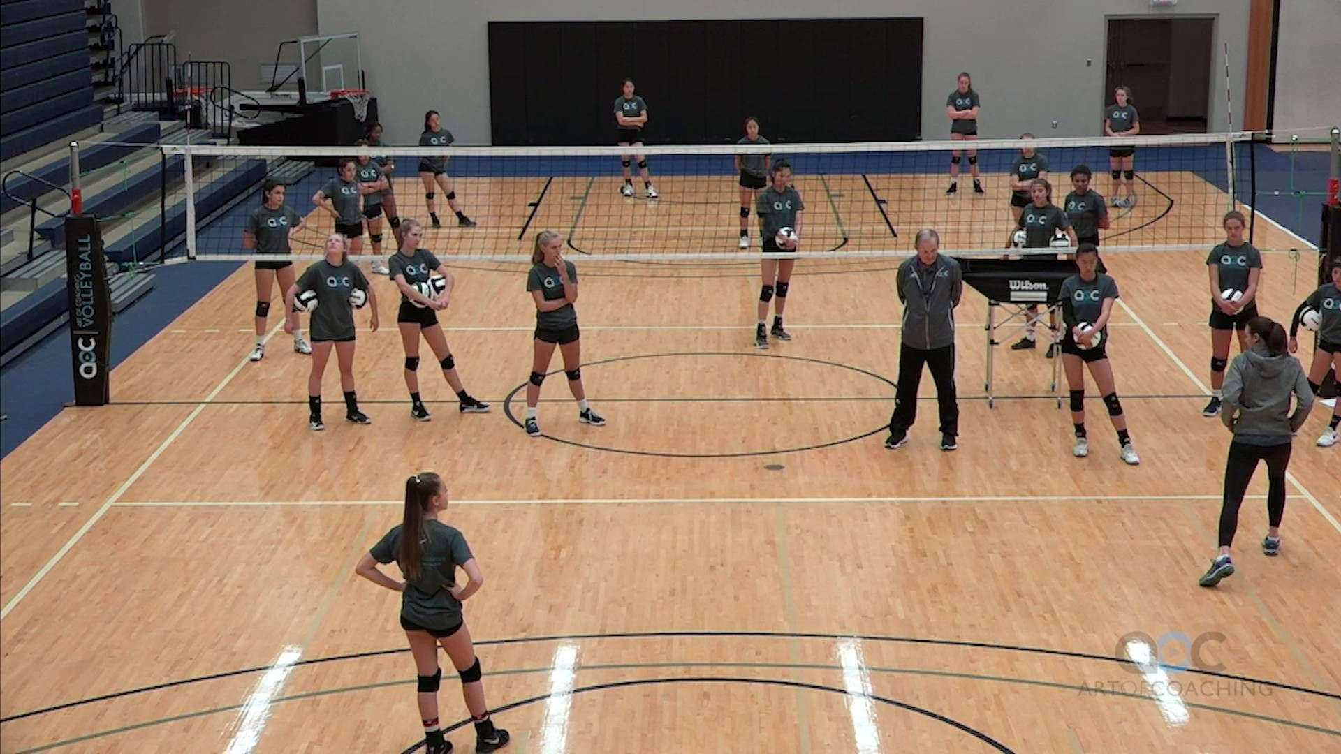 Don T Put Your Platform Together Too Early The Art Of Coaching Volleyball Coaching Volleyball Volleyball Team Pictures Volleyball