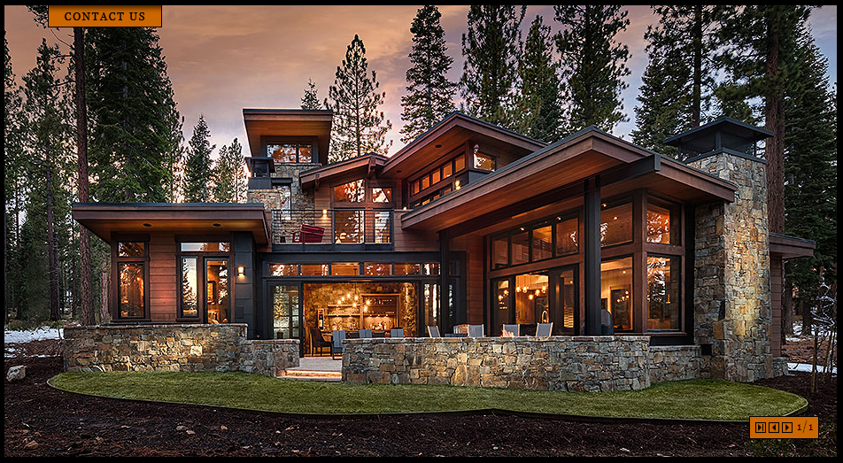 A Modern Mountain Aesthetic Delineates The Design Of This Home Located Along The Putting Corse A Mi House Exterior House Designs Exterior Dream House Exterior
