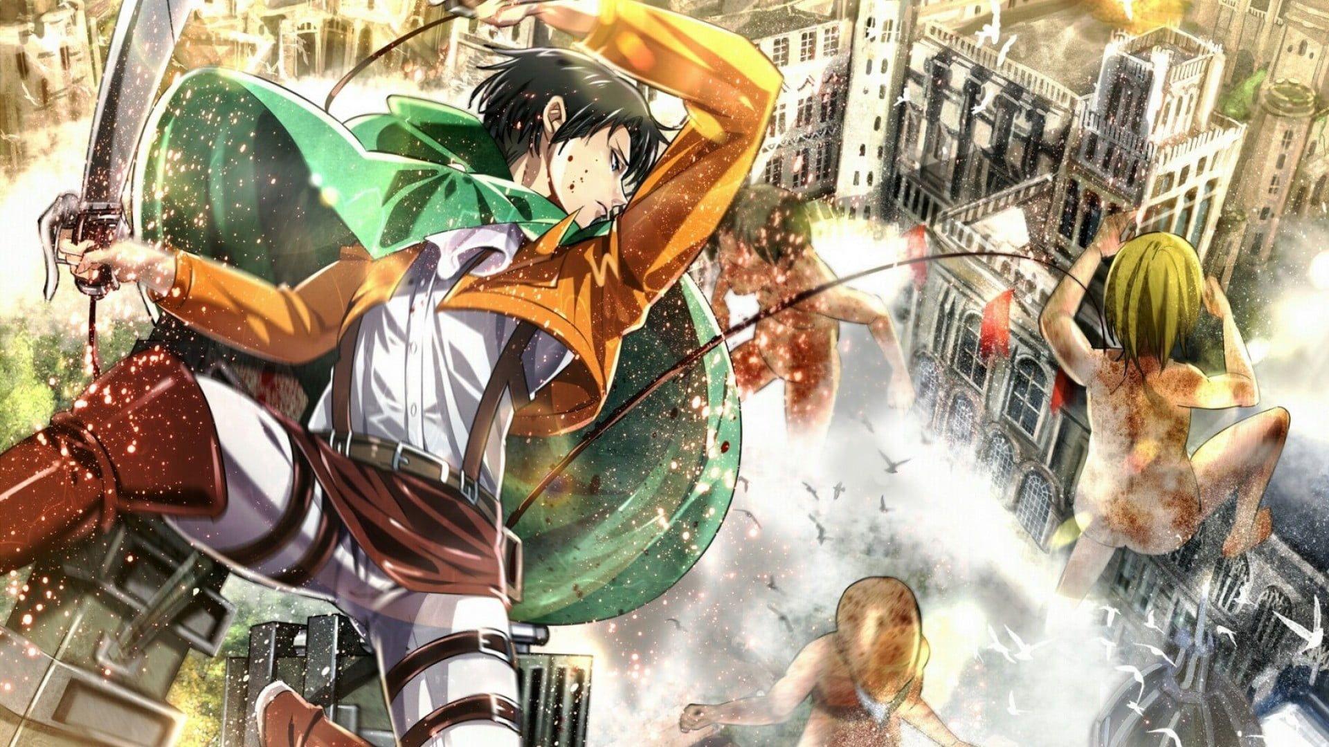 Attack On Titan Wallpaper 4k Desktop Lovely Hd Wallpaper Anime Attack Titan Levi Ackerman Of Anime Attack On Titan Attack On Titan Art