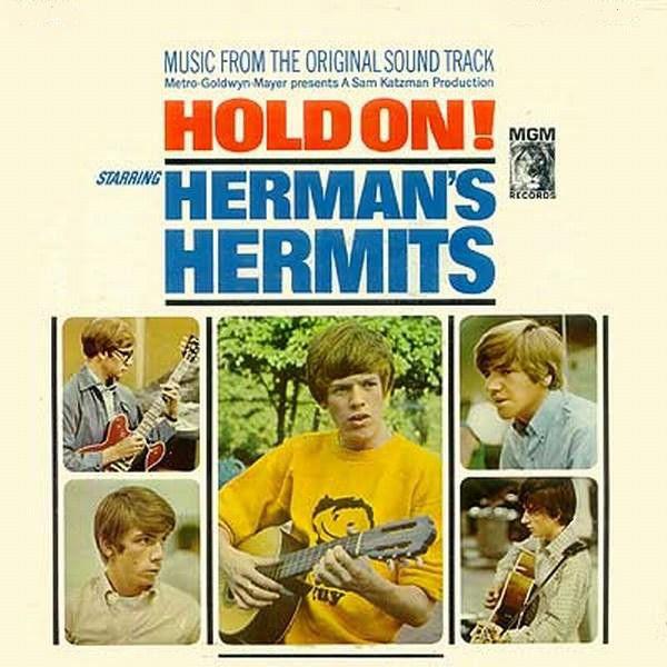 Herman S Hermits Hold On Classic Album Covers Herman S Hermits Album