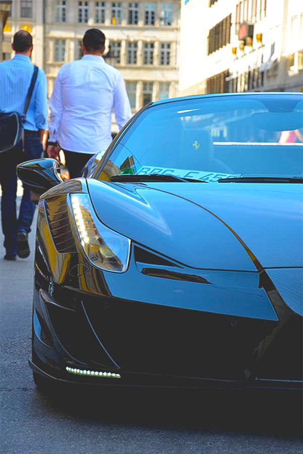 Ferrari 458 Spider Mansory Siracusa Monaco
