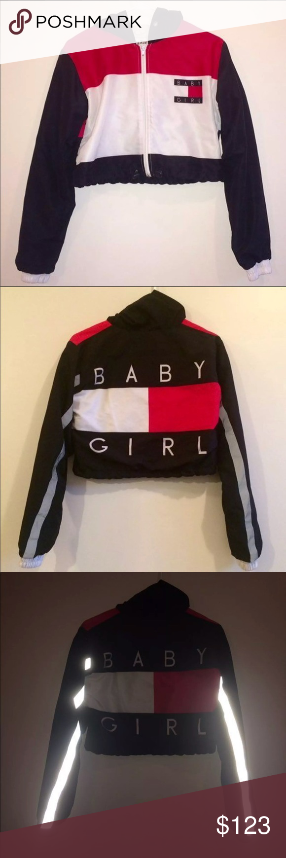 828d80094 ISO tommy cropped baby girl windbreaker ISO!!!! really want this ...