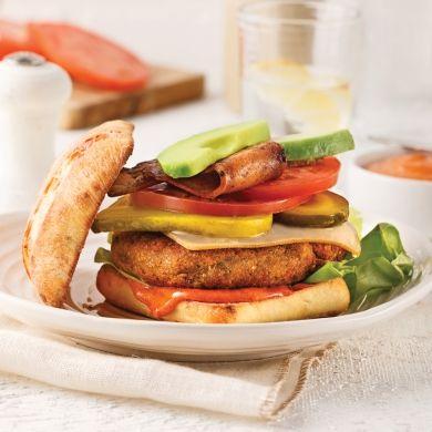 Le meilleur burger végé - Recettes - Cuisine et nutrition - Pratico Pratique