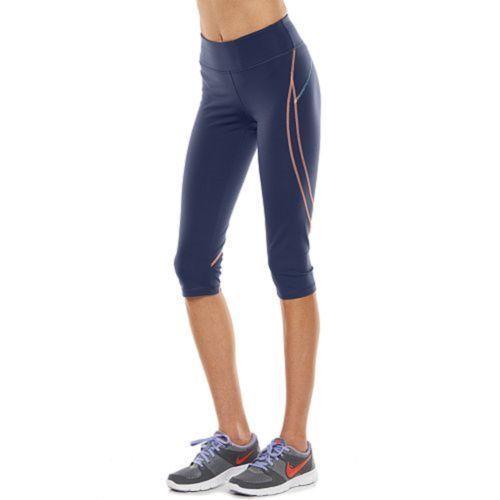 39ded9a4b3811 NWT Womens TEK GEAR Shapewear Capri Yoga Legging Fitted Pants Size XS Black  Pink #TekGear #PantsTightsLeggings