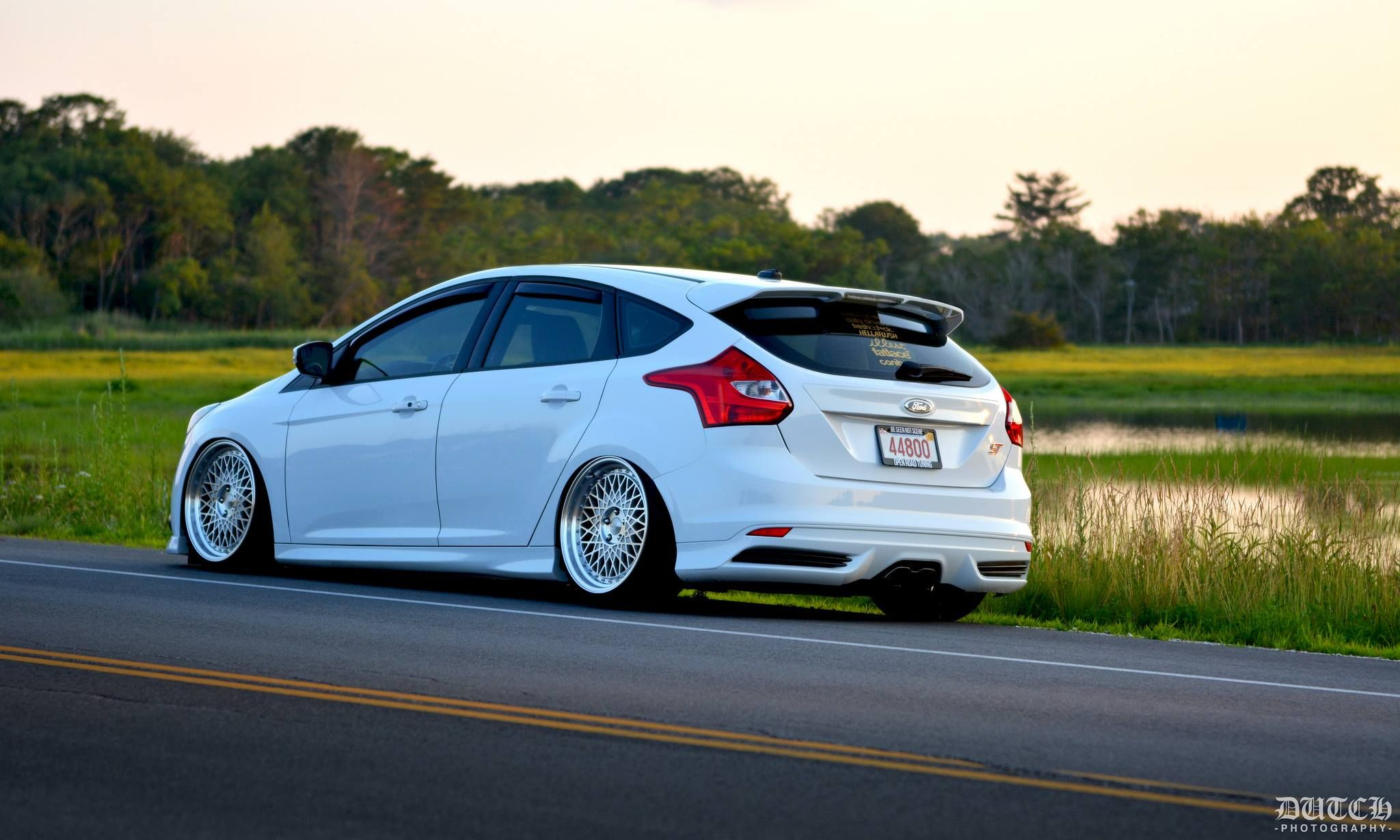 Ford Focus St Mk2 Stance From Usa Cool Wheels Ford Focus Ford