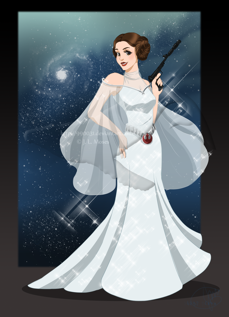 Honoring Royalty: Fans Petition Disney To Make Leia An Official ...