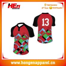 34c70fc02d4 Hongen apparel unusual rugby shirts custom design  black rugby shirts