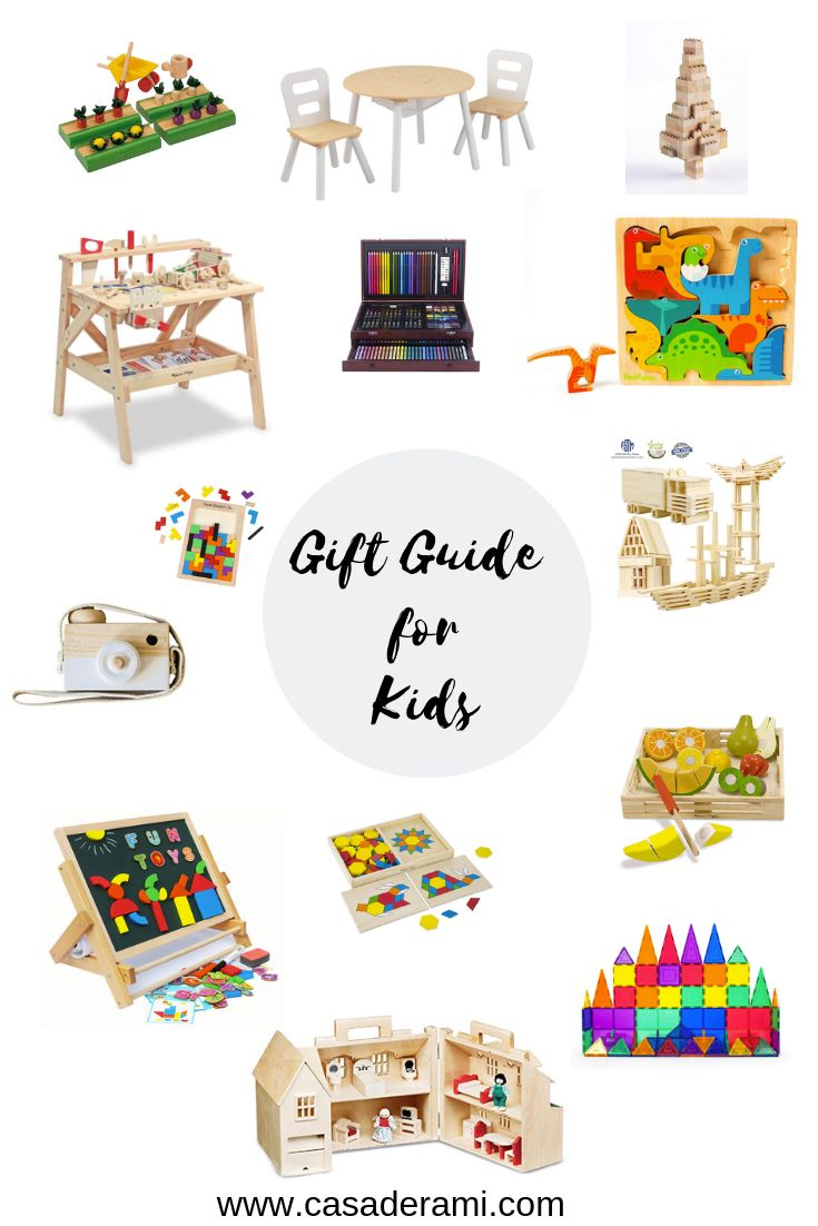Gift Guides for Kids #giftguide #giftideas #giftideasforkids #giftsforkids #kidsgifts