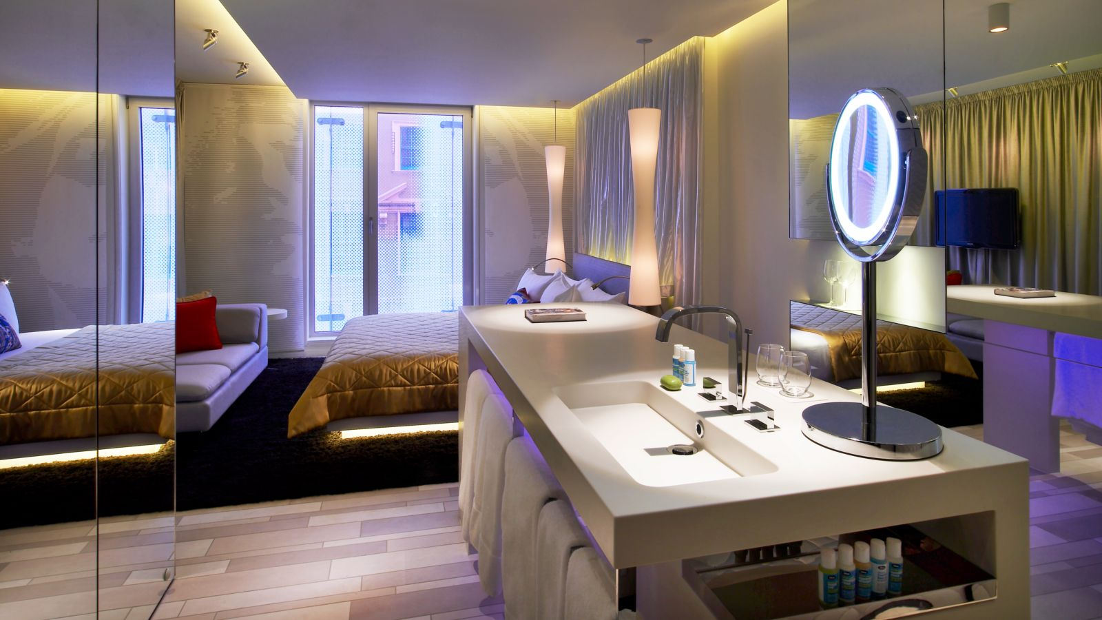 Wonderful Spectacular And Fabulous Rooms W Hotel In London London Hotels Hotel Room Design Room London