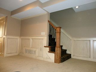 basement remodel kansas city. Basement Stairway With Beadboard - Traditional Staircase Kansas City By KC Finishing Remodel N